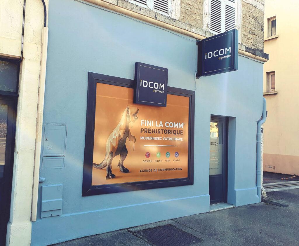 IDCOM - façade agence Web Bourg en Bresse