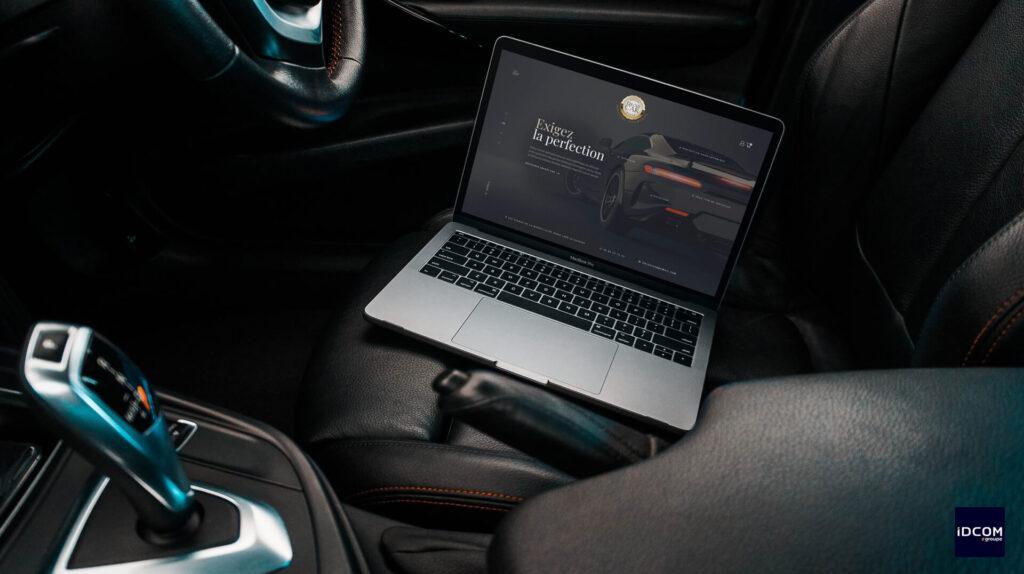 Ebloui car - site e-commerce