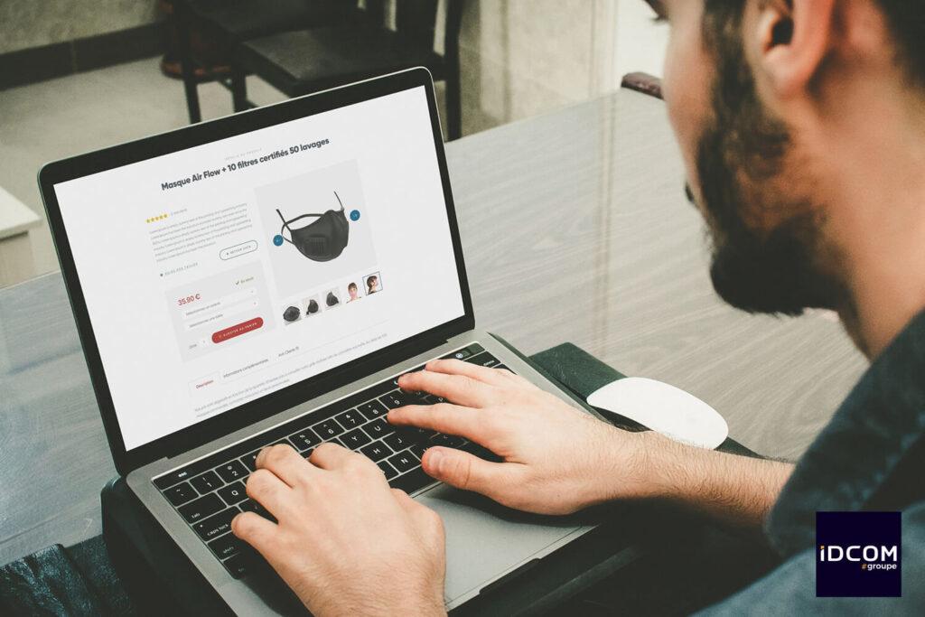 Gem Mask- site e-commerce