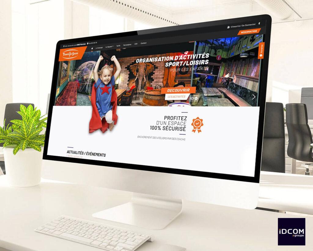 Trampoline Square - site e-commerce